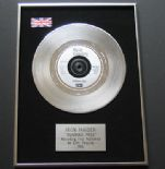IRON MAIDEN - Running Free PLATINUM Single Presentation DISC
